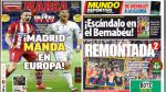 Real Madrid y Atlético Madrid son portadas de los diarios internacionales - Noticias de bayern munich vs real madrid