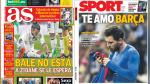 Messi, Real Madrid y Diego Simeone en portadas internacionales - Noticias de isco alarcon