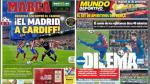 Real Madrid a la final de Champions League son portadas de los diarios internacionales - Noticias de francisco alarcon