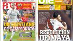 Real Madrid, LaLiga y River ante Melgar en portadas internacionales - Noticias de fc arsenal