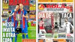 Barcelona campeón y Copa de Portugal con Carrillo y Hurtado en portadas internacionales - Noticias de fc arsenal