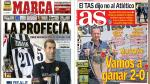 La final de la Champions League domina las portadas deportivas internacionales - Noticias de barcelona vs athletic bilbao