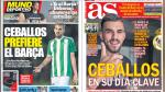 Pelea Real Madrid vs Barcelona por fichaje y Mbappé en portadas internacionales - Noticias de terry gilliam