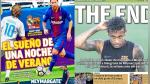 Real Madrid vs Barcelona y marcha de Neymar al PSG en todas las portadas europeas - Noticias de marco polo