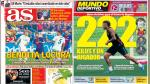 Barcelona vs Real Madrid y Neymar acaparan las portadas deportivas internacionales - Noticias de international champions cup