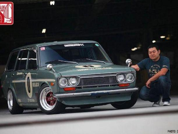 El Datsun 510 Wagon es el coche que utiliza Jun Imai, director creativo de Hot Wheels. (Foto: Instagram kaidohouse)