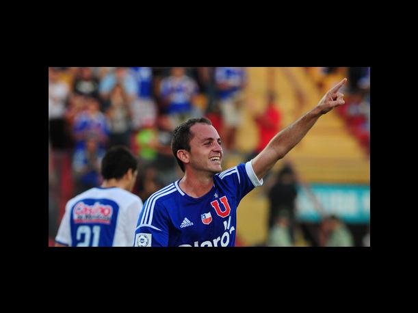 Universidad de Chile se pasea con Godoy Cruz