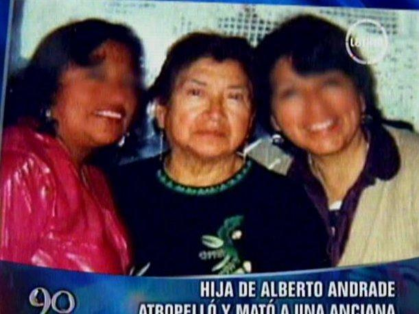VIDEO Hija de exalcalde Alberto Andrade atropelló y mató a una anciana