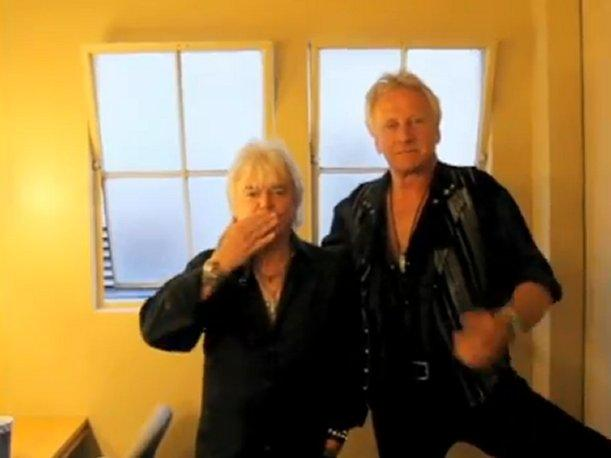 VIDEO: Air Supply envía besos a público de Arequipa