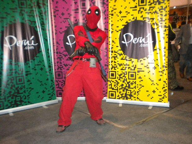 Pasarela Cosplay MásGamers Tech Festival 2012 - Deadpool