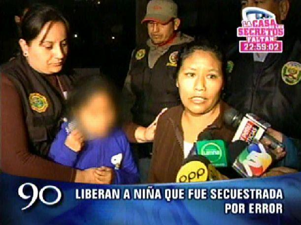 VMT Liberan a niña secuestrada en descampado (VIDEO)