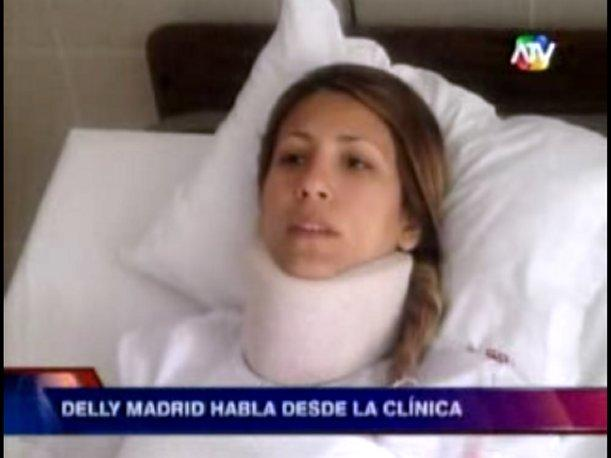 Delly Madrid He podido quedar paralizada o cuadripléjica (VIDEO)