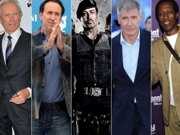 ¿Clint Eastwood, Harrison Ford, Nicolas Cage y Snipes en The Expendables 3?