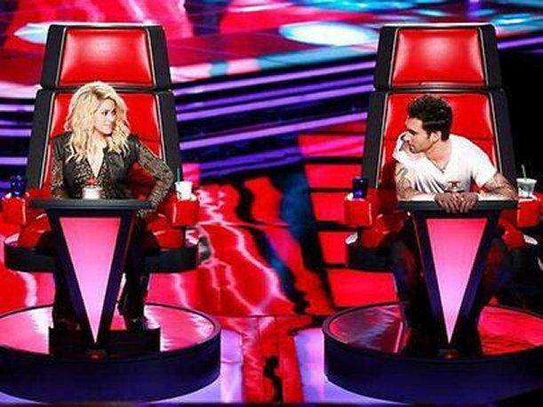 Adam Levine calló a Shakira en el programa The Voice (VIDEO)