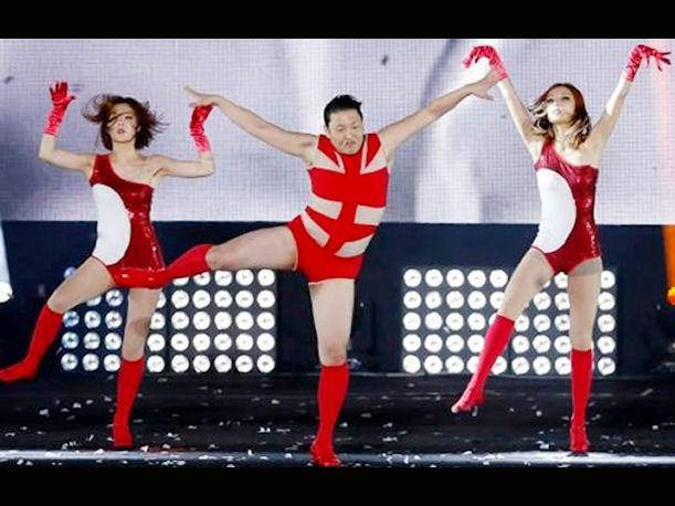 PSY se viste como Beyoncé y baila la coreografía de Single Ladies (VIDEO)