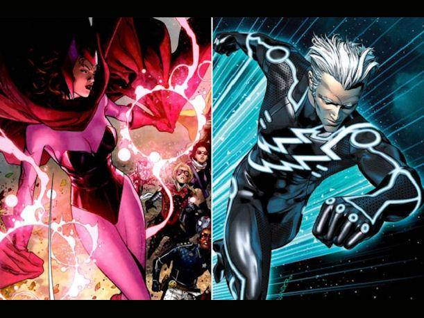 The Avengers 2: Quicksilver y Scarlet Witch se integran al elenco de la película