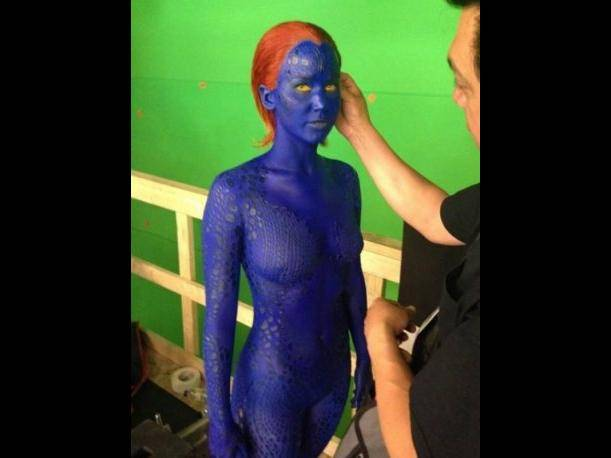 Jennifer Lawrence es la nueva Mystique en X-men Days of the Future Past