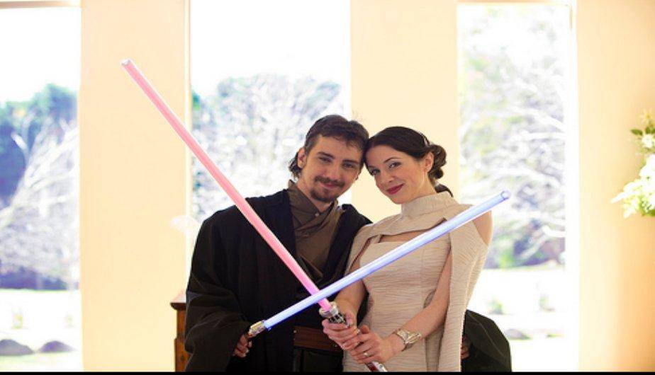 Bodas al estilo Star Wars. (Foto: Wedding Dream Services)