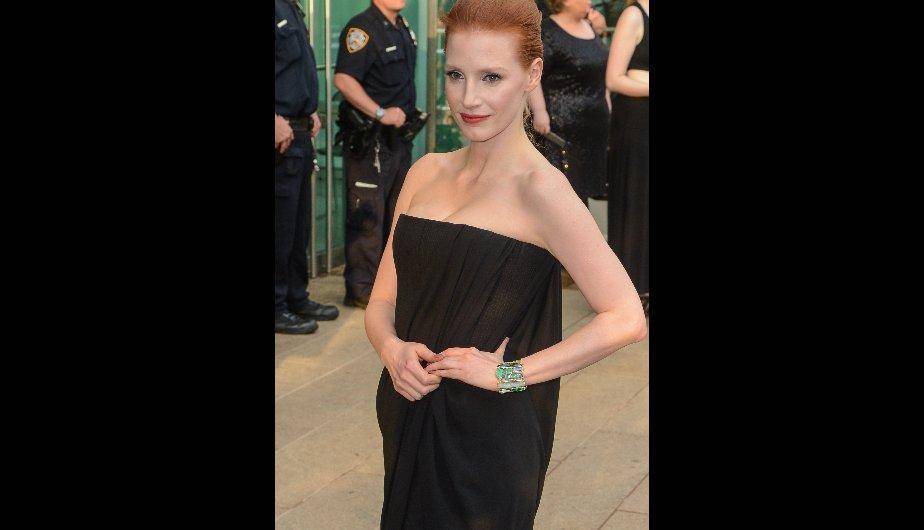 La actriz Jessica Chastain. (Foto: Getty Images)