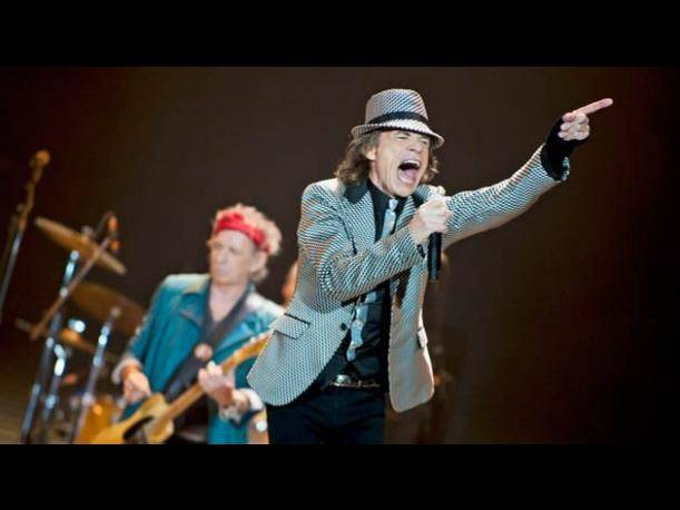 The Rollings Stones, aclamados y rejuvenecidos en su debut en Glastonbury