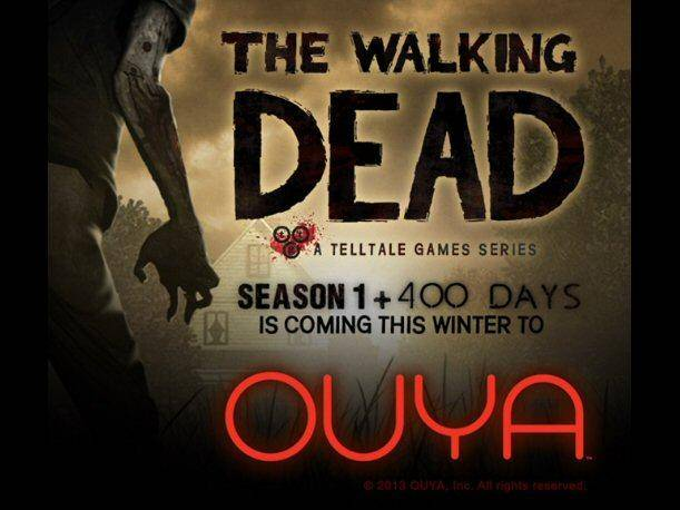 The Walking Dead The Videogame llegará a Ouya