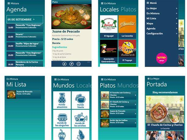Descarga la aplicación de Mistura 2013 para Android, iPhone, BlackBerry y Windows Phone