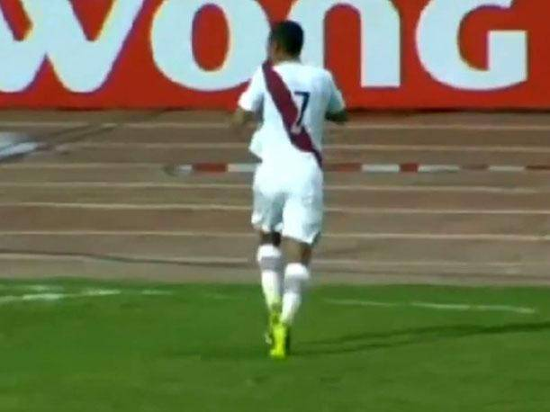 Venezuela vs. Perú: Mira el gol de Paolo Hurtado (VIDEO)