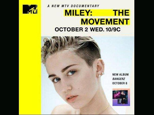 Miley Cyrus MTV estrenará documental sobre su vida y el disco Bangerz