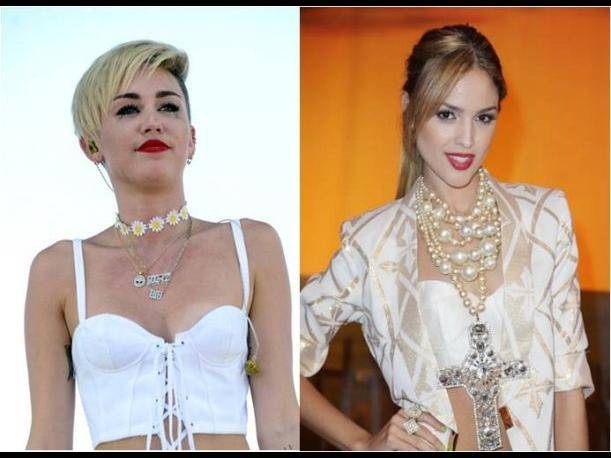 Miley Cyrus Vs Eiza Gonzalez