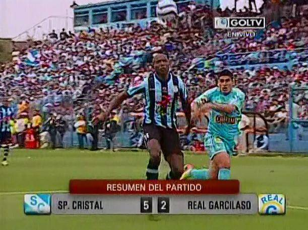 Descentralizado 2013 Goles del Cristal vs. Real Garcilaso (VIDEO)