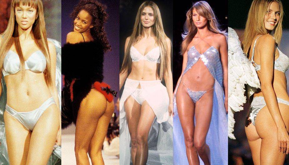 ¿Cómo eran los Fashion Show's de Victoria's Secret en la época de los 90's? (Foto: Getty Images)