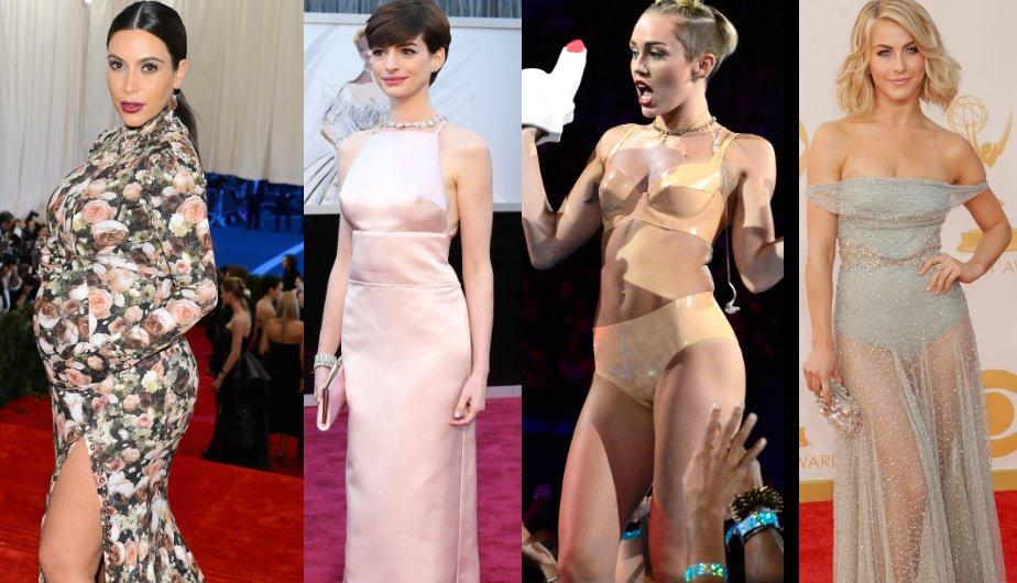 La revista Time escogió los peores looks del 201. (Foto: Getty Images)