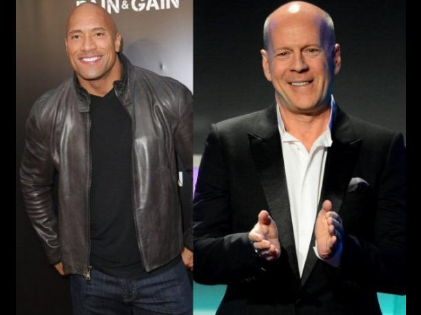 Dwayne Johnson y Bruce Willis podrían reunirse en G.I. Joe 3