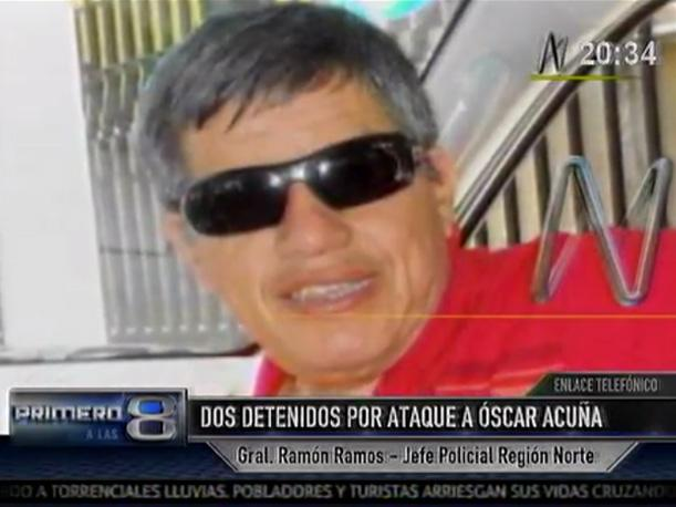 Trujillo: Capturan a dos implicados en ataque contra Óscar Acuña Peralta (VIDEO)