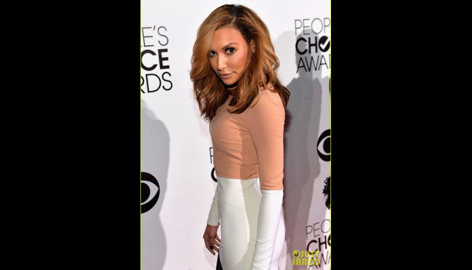 Naya Rivera mostró un nuevo look con un distinto color de cabello (Foto: Just Jared)