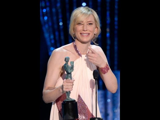 SAG Awards 2014 Cate Blanchett se consolida como Mejor Actriz por Blue Jasmine (VIDEO)