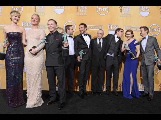 SAG Awards 2014 American Hustle, Breaking Bad y Modern Family se imponen