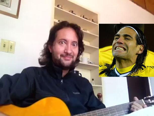 El tema Señor Sana a Falcao causa furor en YouTube (VIDEO)