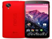 Google Nexus 5 ahora estará disponible en color rojo