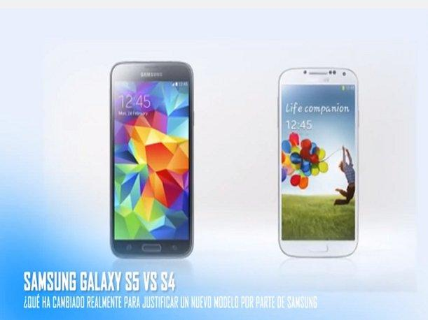 Samsung Galaxy S4 vs. Galaxy S5 ¿Qué diferencias tienen? (VIDEO)