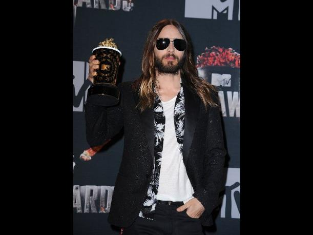 MTV Movie Awards 2014 Jared Leto ganó como Mejor Transformación