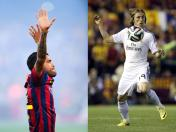 Barcelona vs. Real Madrid: Dani Alves agredió a Luka Modric (VIDEO)