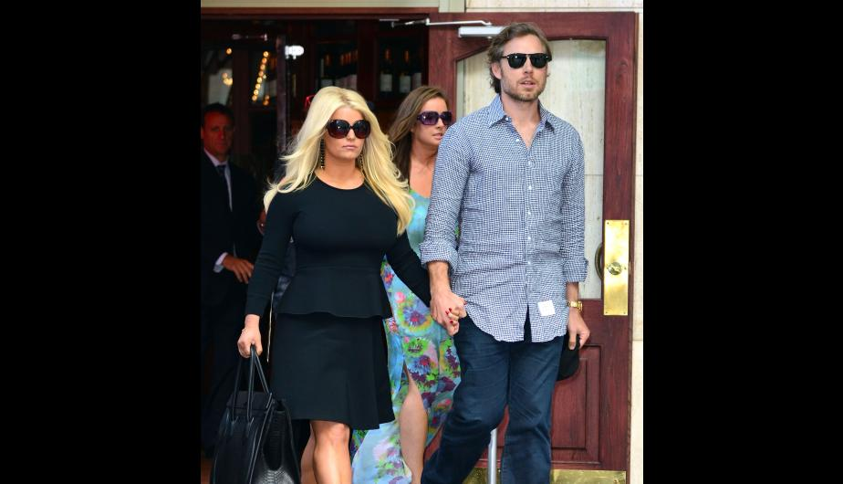 Jessica Simpson y Eric Johnson. (Foto: Getty Images)