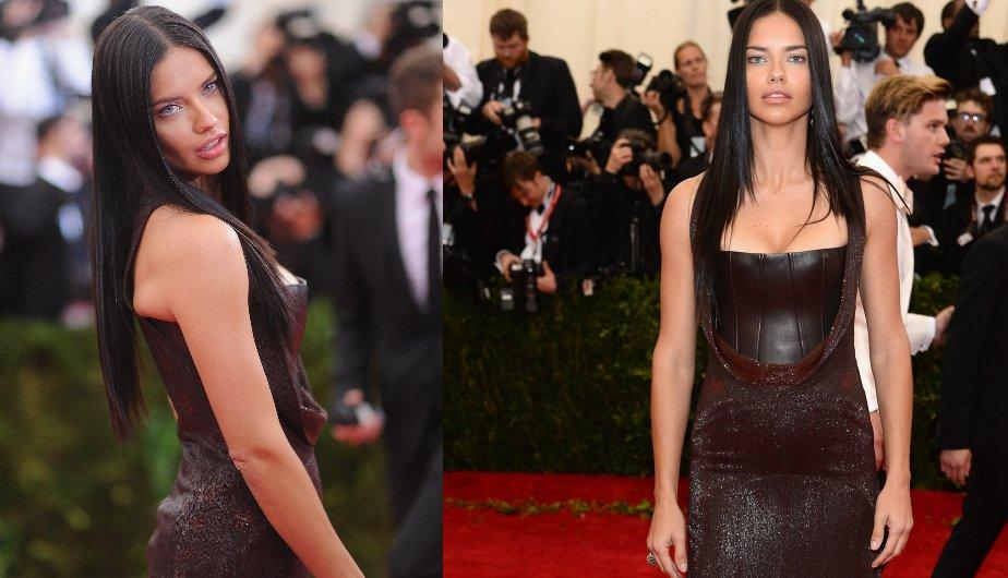 Adriana Lima en un Givenchy. (Foto: Getty Images)