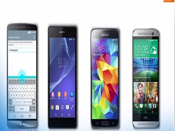 LG G3 vs. Galaxy S5 vs. HTC One M8 ¿Cuál es mejor? (VIDEO)