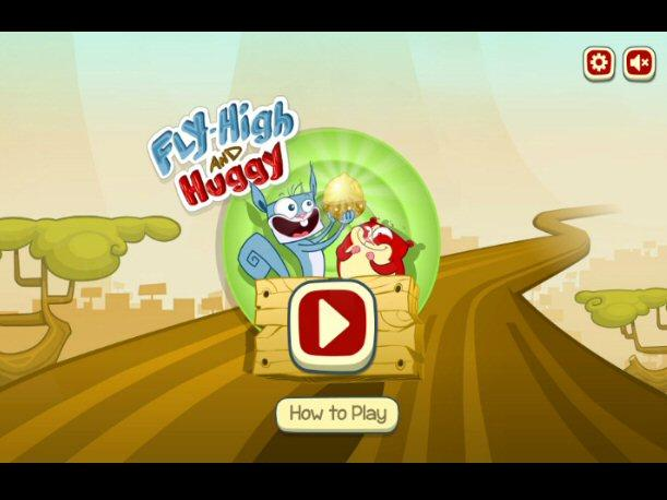 Juego Online - Fly High and Huggy