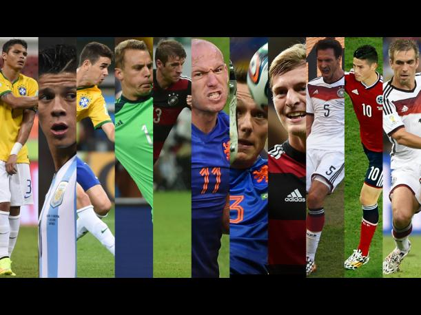 Mundial Brasil 2014: El once ideal de la FIFA (FOTOS)