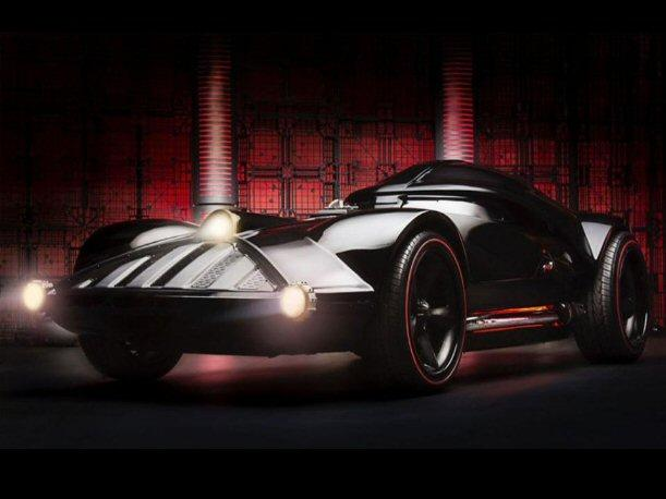 Comic-Con San Diego Hot Wheels presenta el auto de Darth Vader