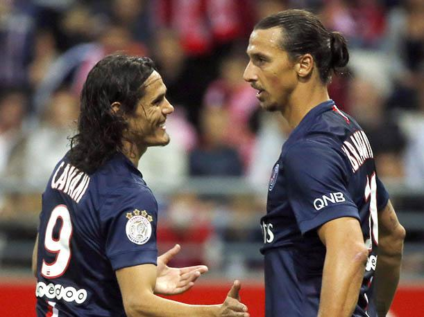 Zlatan Ibrahimovic anota doblete pero no alcanza al PSG (VIDEO)