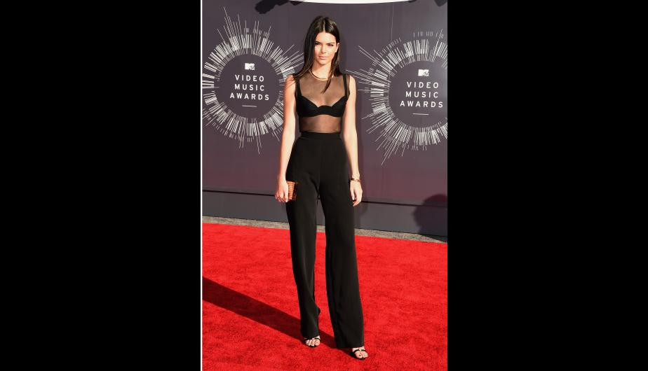 Kendall Jenner y su impecable look en los MTV Video Music Awards. (Foto: Getty Images)